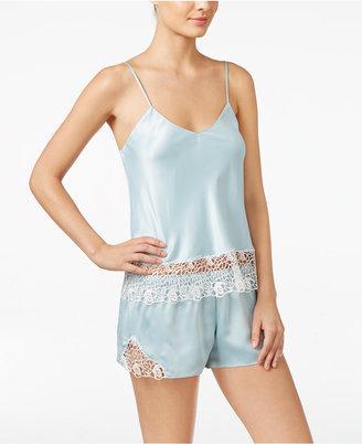 Flora Nikrooz Adeline Charmeuse Cami and Shorts Pajama Set $110 thestylecure.com