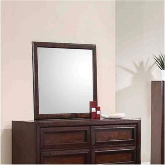 Coaster Company Greenough Mirror, Maple Oak