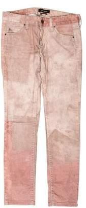 Isabel Marant Mid-Rise Tie-Dye Jeans