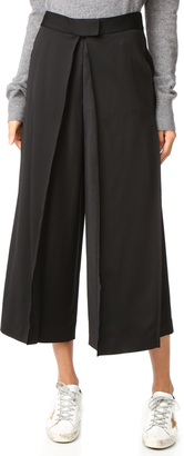 DKNY Pleated Culottes $498 thestylecure.com