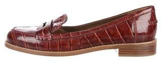 Marc by Marc Jacobs Embossed Round-Toe Loafers