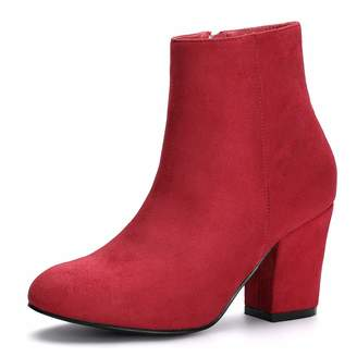 c4cf81dcbde Red Chunky Heel Boots For Women - ShopStyle Canada