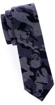 Camouflage Slim Cotton Tie