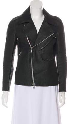 Julien David Textured Biker Jacket w/ Tags