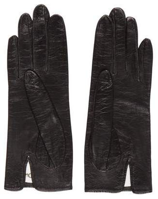 Christian Dior Short Leather Gloves