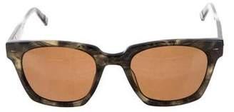 John Varvatos Bowery Wayfarer Sunglasses w/ Tags