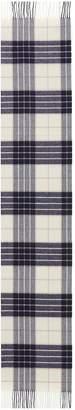 Johnstons of Elgin Tartan plaid oversized cashmere scarf