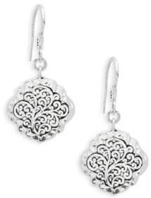 Lois Hill Classic Sterling Silver Drop Earrings