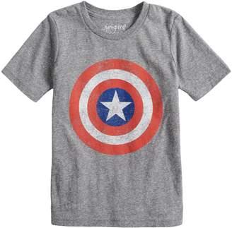 3b0fda482e0b79 Boys 4-10 Jumping Beans Marvel Captain America Logo Graphic Tee