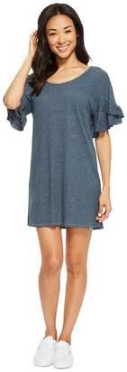 Lanston Ruffle Tee Dress Women's Dress