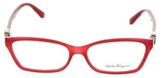 Salvatore Ferragamo Logo Narrow Eyeglasses w/ Tags