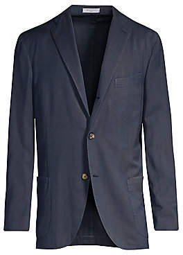 Boglioli Men's Herringbone Wool Jacket