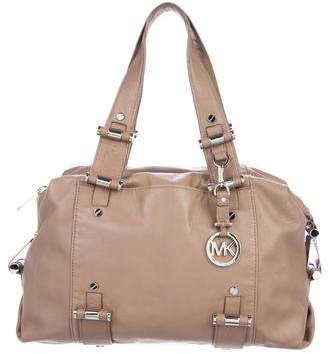 MICHAEL Michael Kors Clasp-Accented Leather Bag