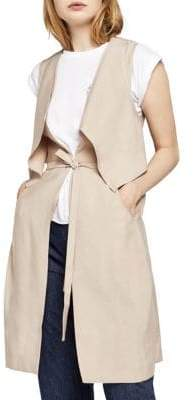 BCBGeneration Layered Long Vest