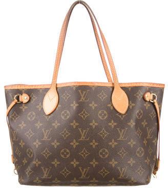 Louis Vuitton Monogram Neverfull PM $825 thestylecure.com