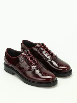 Tod's Polished Brogue Lace-up Shoes