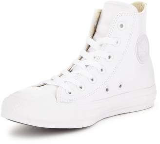at Littlewoods Converse Chuck Taylor All Star Leather Hi-Tops