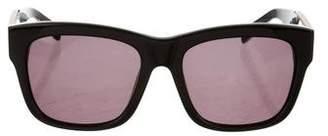 Balmain Embellished Tinted Sunglasses