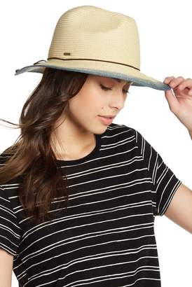 SAN DIEGO HAT Ombre Patterned Fedora