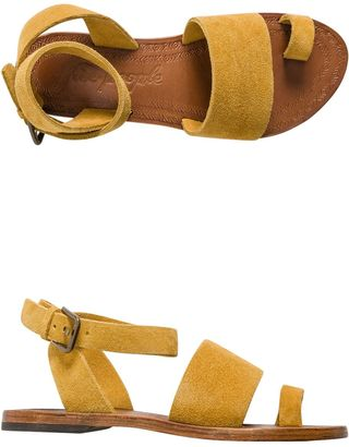 Free People Torrence Flat Sandal $77.95 thestylecure.com