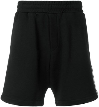 McQ logo band shorts