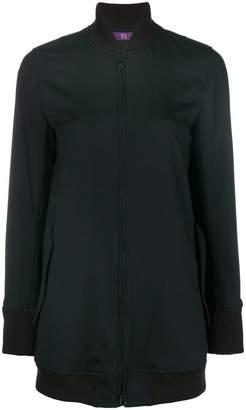 Y's shawl collar zipped sweatshirt