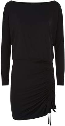 AllSaints Tavi Ruched Mini Dress