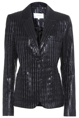 Carven Metallic striped jacket