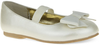 Nina Little Girls' or Toddler Girls' Bow Flats $49 thestylecure.com