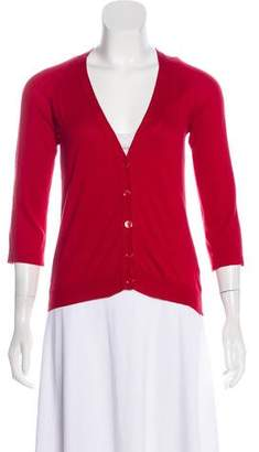 Maison Margiela Crossover Knit Cardigan