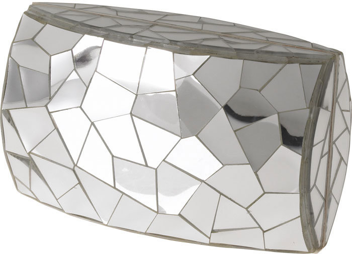 Cracked Mirror Clutch by Celestina