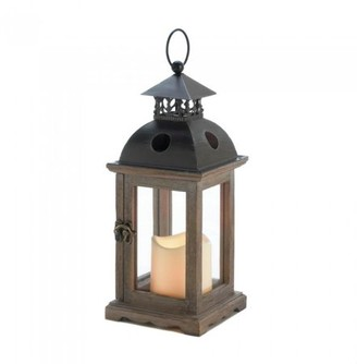 Gallery of Light SMALL MONTICELLO LANTERN WITH LED CANDLE
