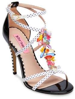 Betsey Johnson Clarice Ankle-Strap Sandals