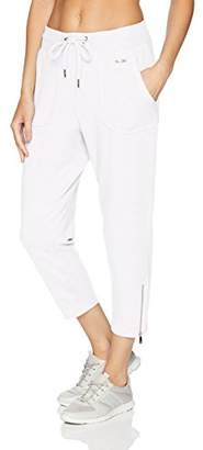 Nanette Lepore Play Women's Moto Seam Zip Bottom Capri