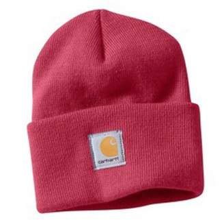Carhartt Womens Acrylic Watch Cap - CRAB APPLE WA018 Womens Ski Hat Winter Hat