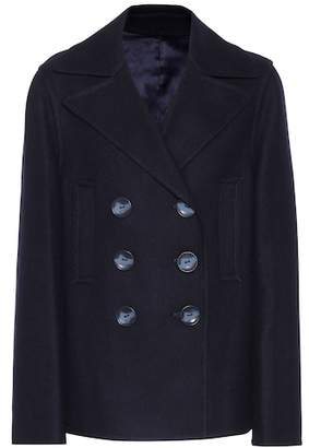 Joseph Double Peacot Hector wool-blend coat