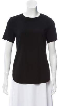 Thakoon Lace-Trimmed Short Sleeve Top w/ Tags