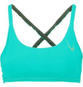 Lucas Hugh Stretch-Jersey Sports Bra