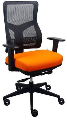 Tempur-Pedic Mesh Desk Chair Color : Orange