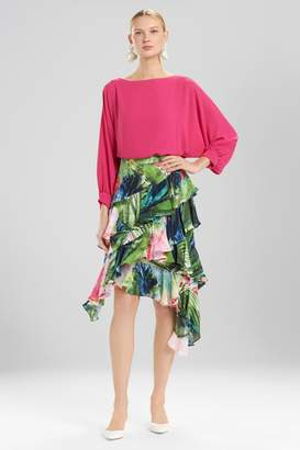 Josie Natori Sunset Palms Skirt