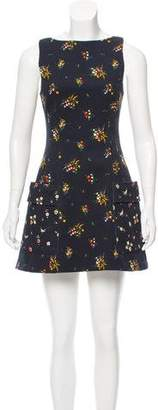 Louis Vuitton Floral Mini Dress