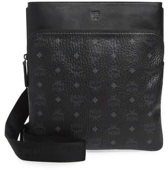 MCM Ottomar Visetos Faux Leather Crossbody Bag