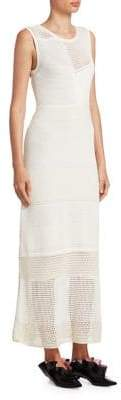 Proenza Schouler Knit Patchwork Dress