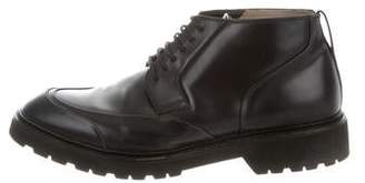 Christian Dior Leather Desert Boots