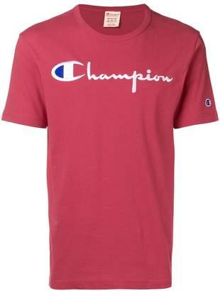 Champion (チャンピオン) - Champion logo print T-shirt