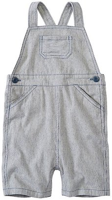 Toddler Chambray Ticking Shortalls $45 thestylecure.com
