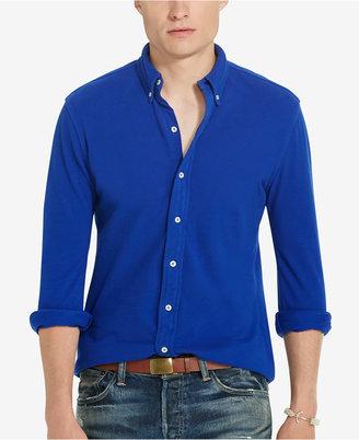 Polo Ralph Lauren Men's Featherweight Mesh Shirt $89.50 thestylecure.com