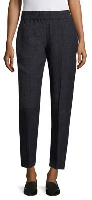 Eileen Fisher Tapered Relaxed Pants $198 thestylecure.com