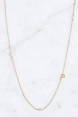 Tai Gold Alphabet Necklace P