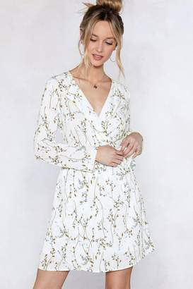 Nasty Gal Spring Back Floral Dress